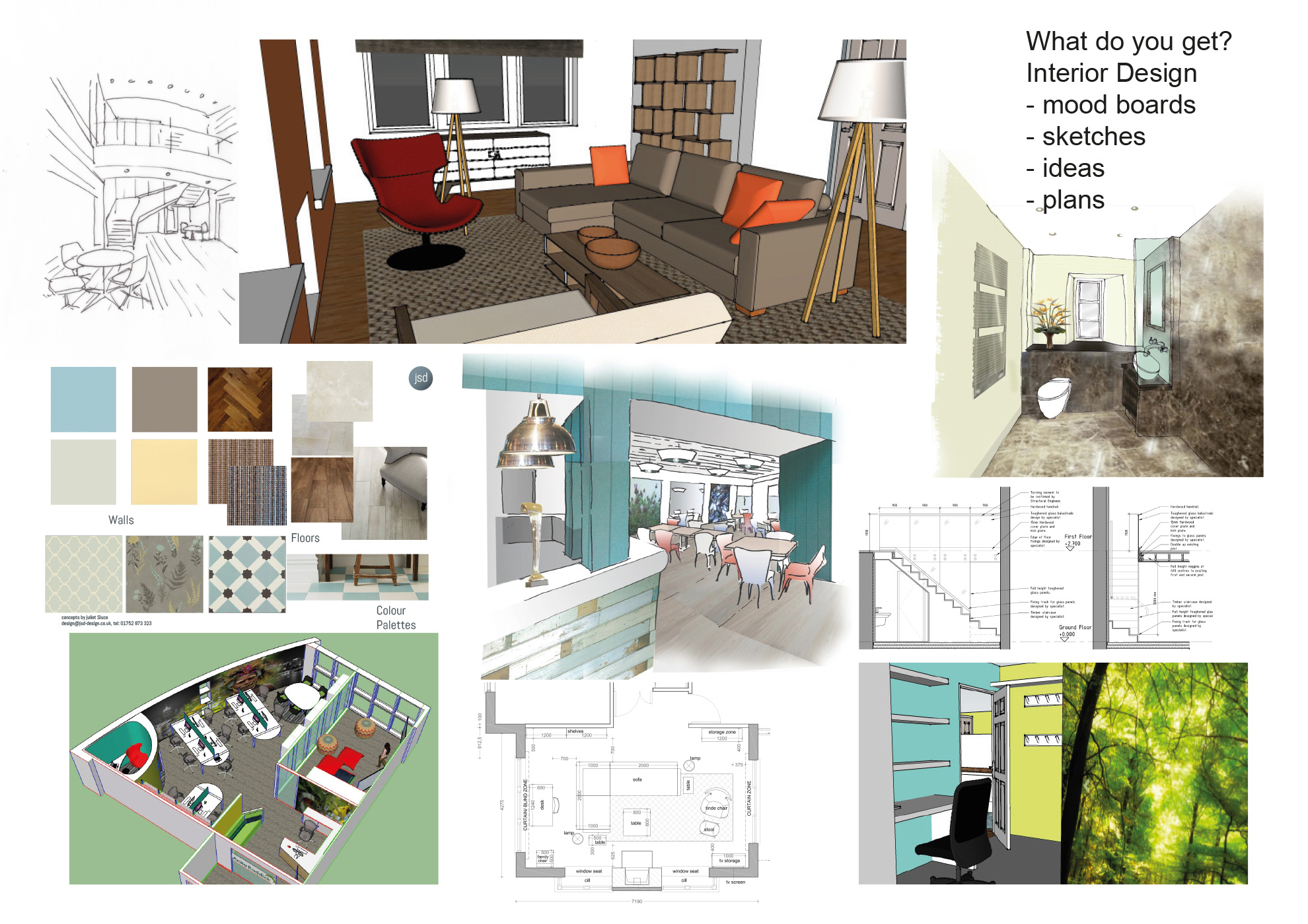 Jsd design architectural interior design solutions for Interior design process
